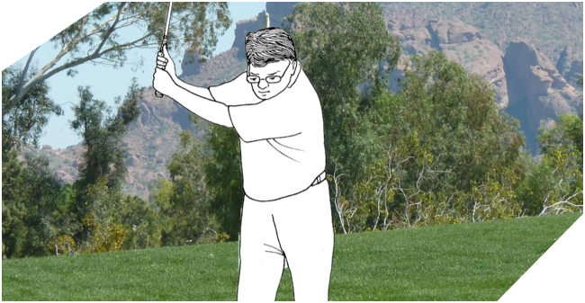 Minimalist Golf Swing System - Full Swing